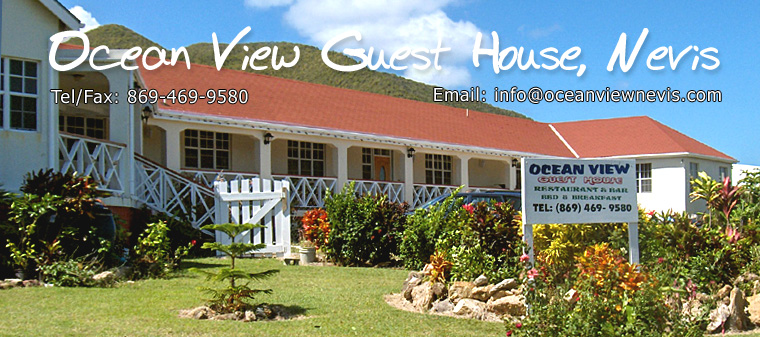 Ocean View Guesthouse, Nevis